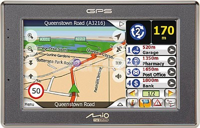 C520 Mobile GPS Navigation System `Peace of Mind Kit`