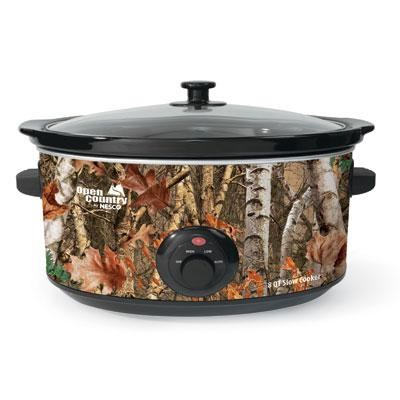 Open Country 8 quart Portable Slow Cooker (Camouflage) SC-8017