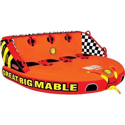 Great Big Mable Inflatable Quadruple Rider Towable