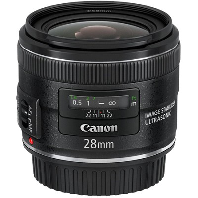 EF 28mm f/2.8 IS USM Wide Angle Lens  CANON AUTHORIZED USA DEALER WITH WARRANTY