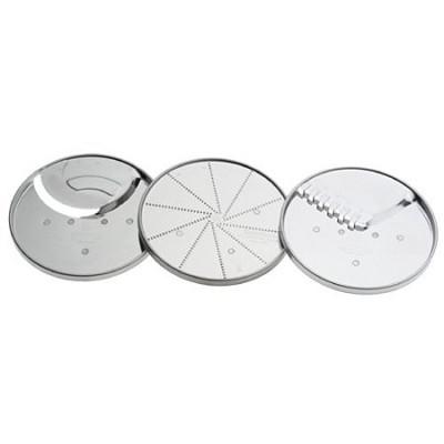 3-Piece Specialty Disc Set fits 14-cup Food Proceesor