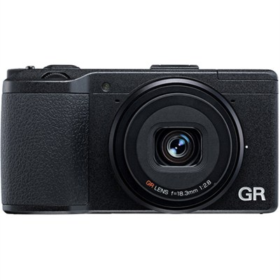 GR 16.2 MP Digital Camera with 3.0-Inch LED Backlit (Black) - OPEN BOX