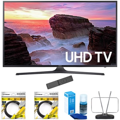 65` 4K Ultra HD Smart LED TV 2017 Model with Cleaning Bundle
