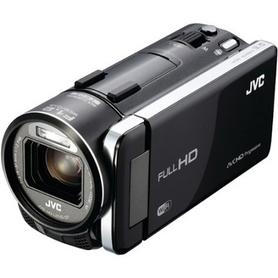 GZ-GX1BUS - HD Everio Camcorder 3.5 Touchscreen 10x Zoom f1.2  WiFi (Black)- OPE