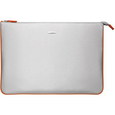 VGP-CPC1/D 15.5` Notebook Carrying Pouch - Silver, Orange Interior