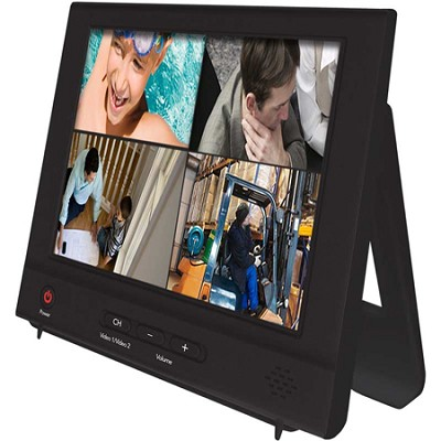 8` Color LCD Surveillance Security Monitor (NO-8LCD) - Factory Refurbished