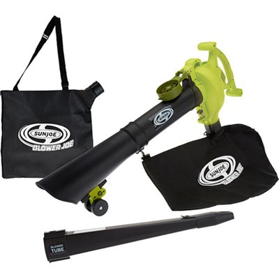 3-in-1 Electric Blower, Vacuum, & Mulcher w/ Accessories (Certified Refurbished)