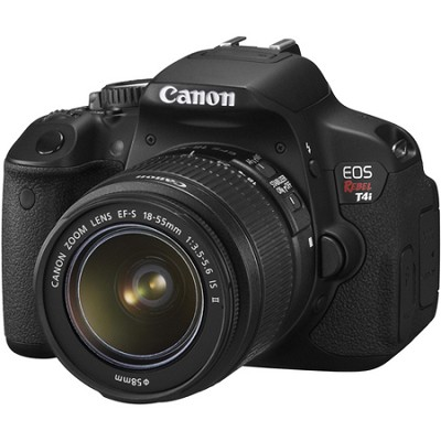 EOS Rebel T4i 18.0 MP CMOS Digital SLR with 18-55mm EF-S IS II Lens