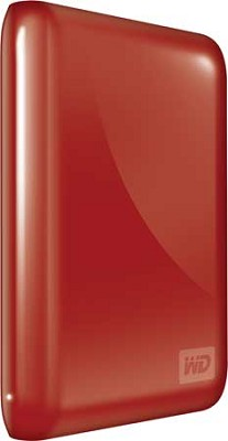 My Passport Essential 640GB Ultra-Portable USB Drive w/ Auto Backup (Red)