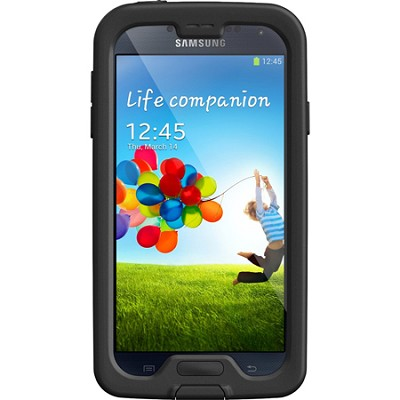 Black Samsung Galaxy S4 Nuud Case - Retail Packaging - (LP-1801-01)
