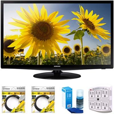 28` Slim LED HD 720p TV 2014 Model UN28H4000 with Cleaning Bundle