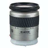 AF 28-80mm f/3.5-5.6 lens (Silver)  FD=55MM FOR SONY ALPHA SLR CAMERAS