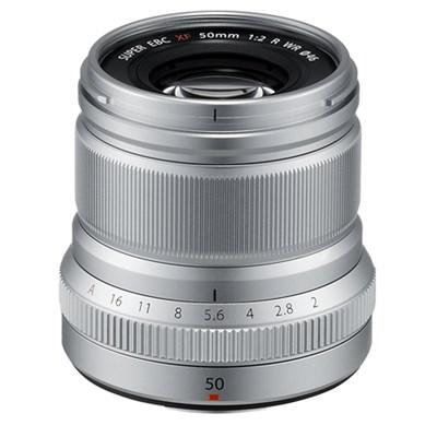 Fujinon ENS XF50mm F2 R WR Lens (Silver)