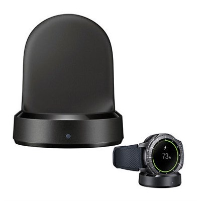 QI Wireless Charging Base Dock Cradle Charger Samsung Gear S3