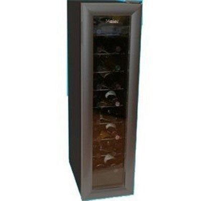 18 Bottle Thermoelectric Wine Tower Storage-Black