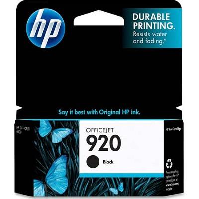 920 Black Officejet Ink Cartridge