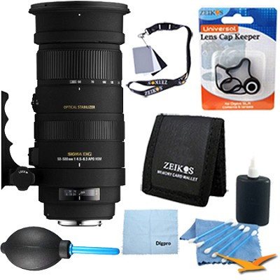APO 50-500mm F4.5-6.3 DG OS HSM f/ Canon EOS - Pro Lens Kit