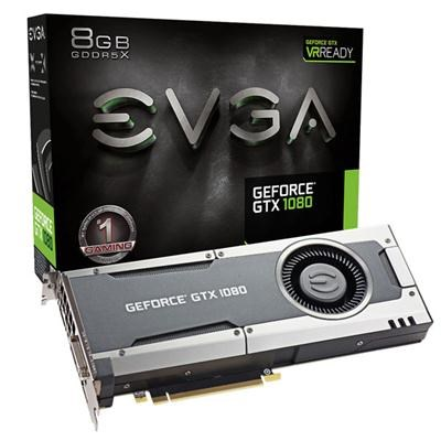 GeForce GTX1080 8GB GDDR5X Gaming Graphics Card - 08G-P4-5180-KR