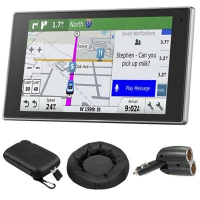 010-01531-00 DriveLuxe 50LMTHD GPS Navigator with GPS Bundle