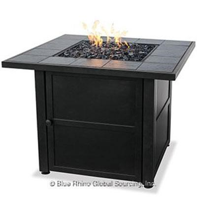 UF Ceramic Tile LP Gas Firepit