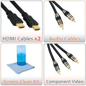 HDTV Essentials Super Savings Package