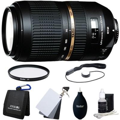 SP AF70-300mm Di VC USD Lens Kit For Nikon AF