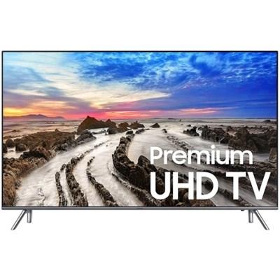 UN82MU8000 82` UHD 4K HDR LED Smart HDTV (2017 Model) (OPEN BOX)