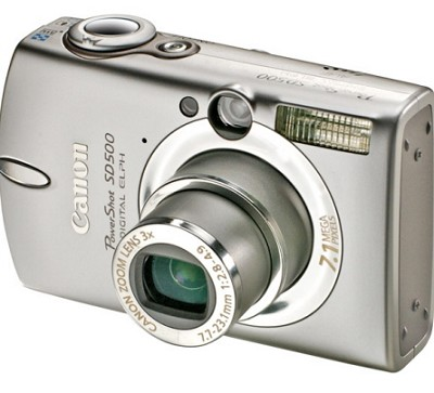 Powershot SD500 Digital ELPH Camera