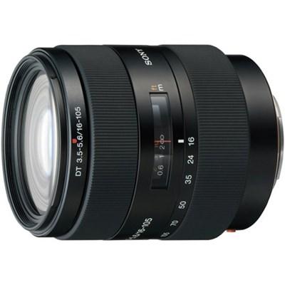 SAL16105 - 16-105mm f/3.5-5.6 Wide-Range Zoom A-Mount Lens - OPEN BOX