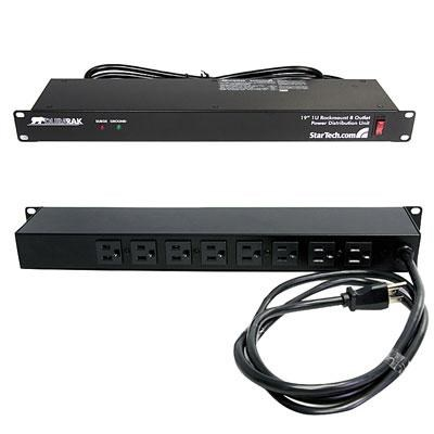 Rackmount PDU with 8 Outlets and Surge Protection - RKPW081915