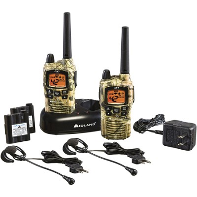 42-Channel Mossy Oak Break Up Camo GMRS w/ NOAA Weather Alert - GXT895VP4