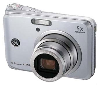 A1250 12.2MP 2.5` LCD 5x Zoom Digital Camera (Silver)