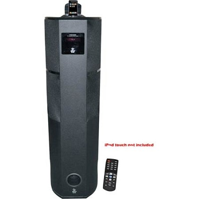 PHST92IBK 600 Watt Digital 2.1 Channel Home Theater Tower w/ iPod/iPhone Dock