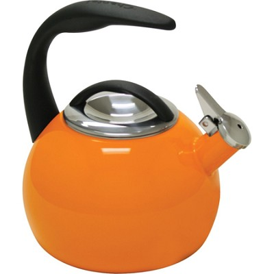 2-Quart Enamel on Steel Tea Kettle
