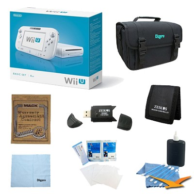 Wii U Console White Basic Bundle