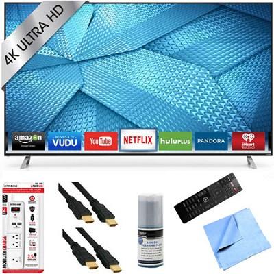 M80-C3 - 80 Inch 240Hz 4K Ultra HD Smart LED HDTV Plus Hook-Up Bundle