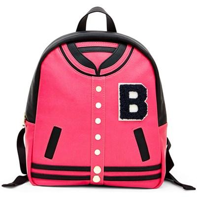 Varsity Backpack - Fuchsia