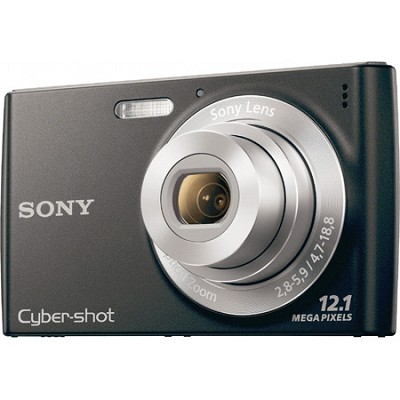 Cyber-shot DSC-W510 Black Digital Camera