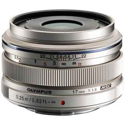 M.Zuiko 17mm f1.8 Lens (Silver) - V311050SU000