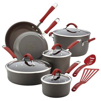 Cucina Hard-Anodized Nonstick 12-Piece Cookware Set