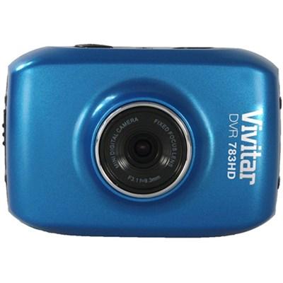 HD Action Waterproof Camera / Camcorder - Blue DVR783HD-BLU