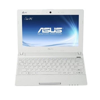 Eee PC X101CH-EU17-WH 10.1 LED Netbook W/Intel ATOM N2600 Dual Core- White