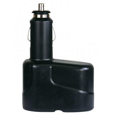 Dual Socket Cigarette Lighter Power Adapter