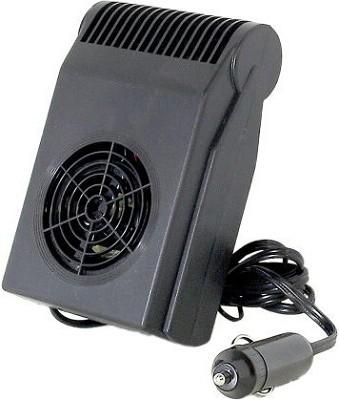 Visor-Mounted Heater/ Defroster