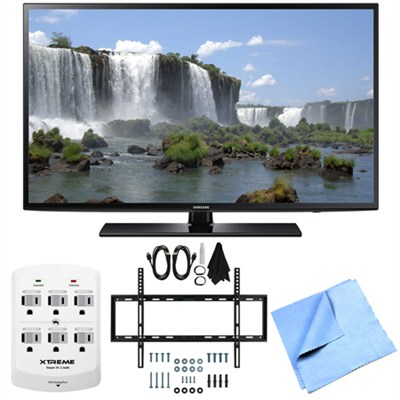 UN40J6200 - 40-Inch Full HD 1080p 120hz Smart LED HDTV Mount & Hook-Up Bundle