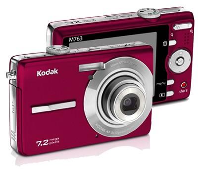 EasyShare M763 7.2 MP Digital Camera (Red)