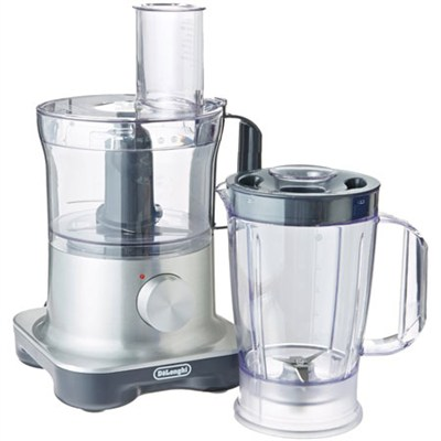 9-Cup Capacity Food Processor with Integrated Blender