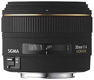 30mm f/1.4 EX DC HSM Autofocus Lens for Nikon Digital SLR Cameras