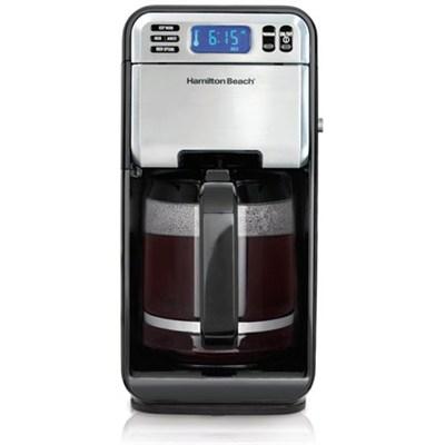 12-Cup Digital Coffee Maker, Stainless Steel (46201)