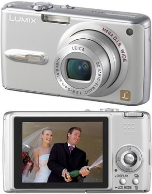 DMC-FX07 (Silver) Lumix 7.2 megapixel Digital Camera - REFURBISHED